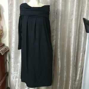 DKNY Knit Oversized Dress
